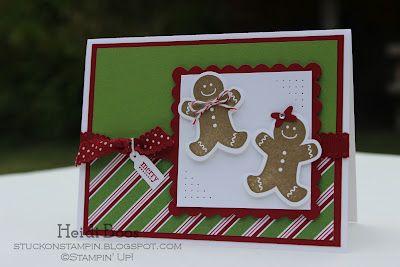 Stuck on Stampin': scensational season gingerbread men
