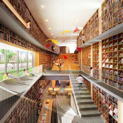 子ども図書館に寄付金3億円 安藤忠雄さん建設 着工へ 朝日新聞デジタル 子ども 図書館 安藤忠雄 図書館デザイン