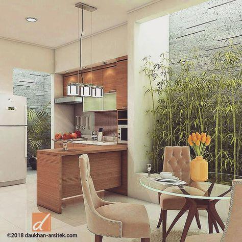 Desain Dapur Mungil Dan Ruang Makan Renovasi Rumah Di Kota Bekasi