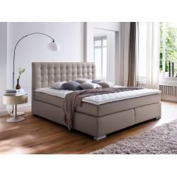 Isabell Plus Boxspringbett 180 X 200 Cm Mobel Eins Boxspringbett Isabell Mobeleins In 2020 Bedroom Sets Furniture King Leather Bed Box Spring Bed