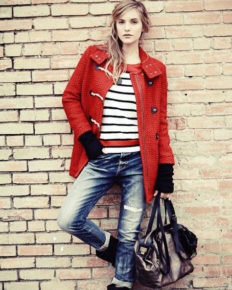 Splendid red coat!