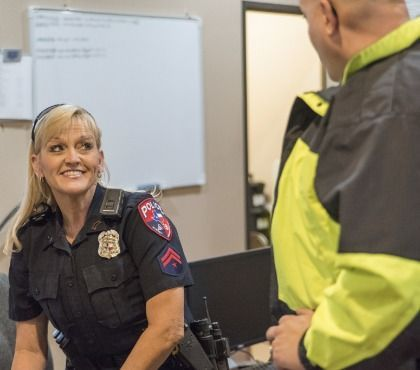A Police Peer Support Program Gives Officers The Opportunity To Talk With Someone Who Understands Police Activities Police Jobs Employee Engagement Activities