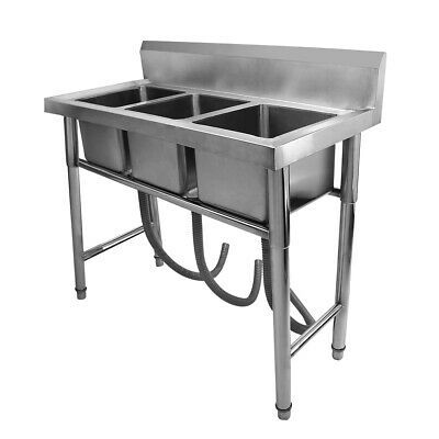 Pin By Sha Nurain On Commercial Sink For Laundry Commercial Sink Stainless Steel Kitchen Kitchen Work Tables
