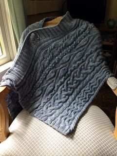 Remember earlier in the week when I mentioned a http://lornaslaces.blogspot.com/2014/07/ode-to-skye-wrap.html