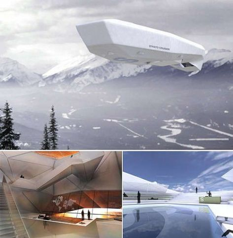 Floating Luxury Palace Airborne Strato Cruiser #aircraft #aircraft #concept