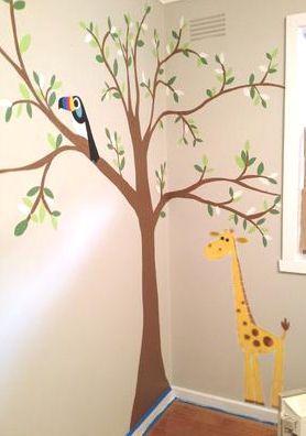 Baby Room Tree Stencils Sevenstonesinccom