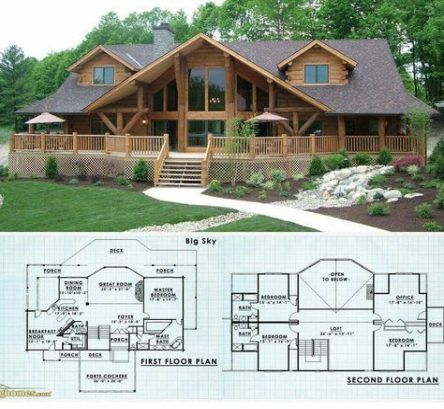 Super Wood House Exterior Mountain Layout Ideas Log Cabin Floor Plans Log Home Plans Log Homes