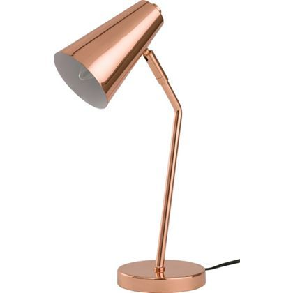 Rose Gold Desk Lamp Copperfield Desk Lamp  Copper At Homebase  Be Inspired And Make