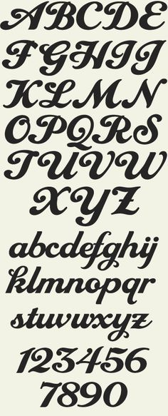 A classic script inspired from a single word in an old Swedish advertisement. Tom Kennedy then added the remaining characters and personalized it to his own liking. Font includes numbers, full punctuation and accent characters. Creative Lettering, Lettering Styles, Brush Lettering, Lettering Design, Lettering Tutorial, Hand Lettering Alphabet, Calligraphy Letters, Typography Letters, Alphabet Fonts