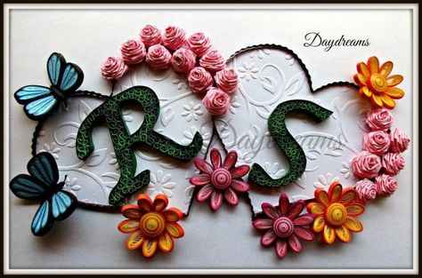 Paper Quilling Craft Ideas Paper Quilling Birthday Gift Idea Craft Community Paper Quilling