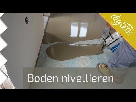Boden Nivellieren Anleitung Diybook Fliesen Legen Ausgleichsmasse Boden