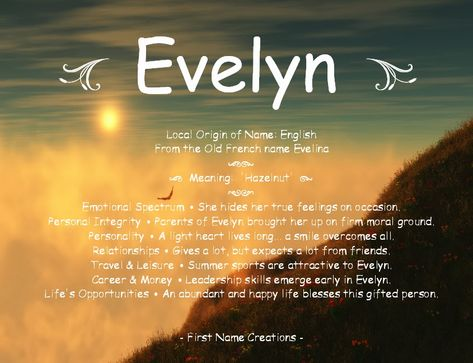 27++ Evelyn name meaning in islam ideas in 2021
