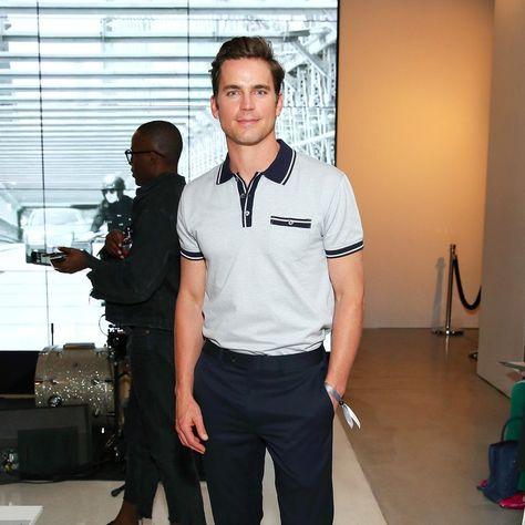8b12723db Matt Bomer Looks Almost Too Good at a Hugo Boss Event | fashion ...