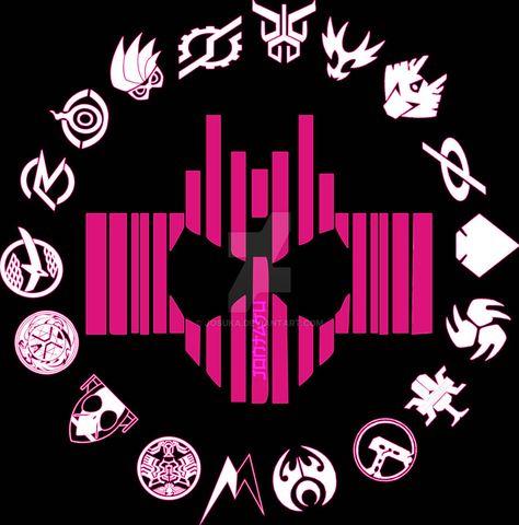 List of kamen rider decade logo pictures and kamen rider
