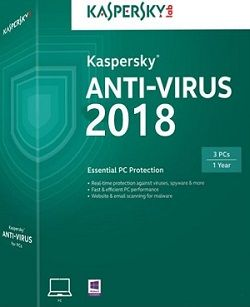 Kaspersky Antivirus 2018 Free Download Offline Installer