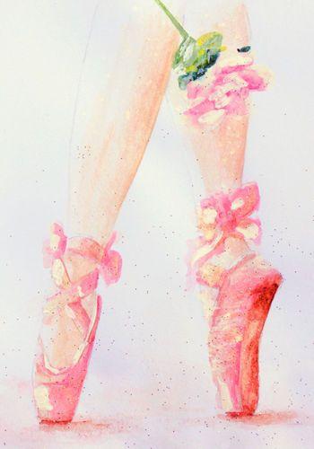 Ballet Slippers Shoes Dance Ballerina Pink Andy Warhol Dancer Canvas Art Print
