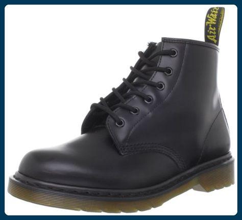 Dr. Martens 101 PW Smooth Unisex-Erwachsene Stiefel & Stiefeletten, Schwarz, 47 EU - Stiefel für frauen (*Partner-Link)