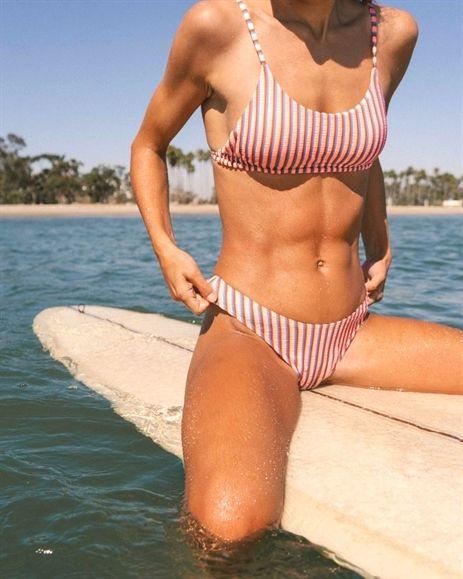 Hey Now Mini Crop Bikini Top Bikinis Womens Swimsuits Bikini Crop Bikini