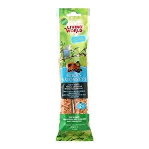 Living World Lock And Crock Dish 20 Ounce Dog Supplies Online Budgies Honey Sticks Fruit Sticks