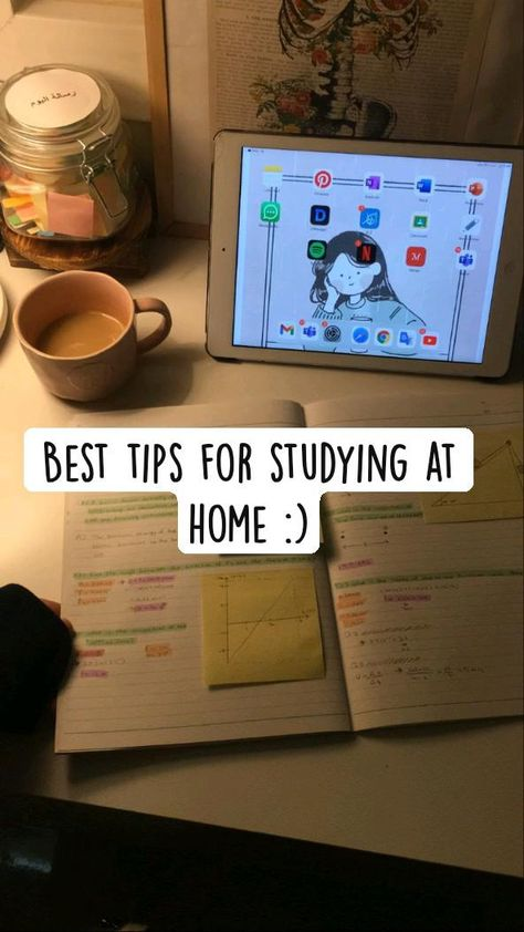 Best tips for studying at home :) #studyathome #studytips #studymotivation #studytricks