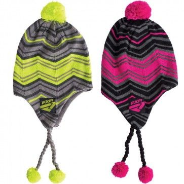 Fxr Racing Mischief Womens Snowmobile Skiing Sports Knit Toque Knitting Women Toque Knitting