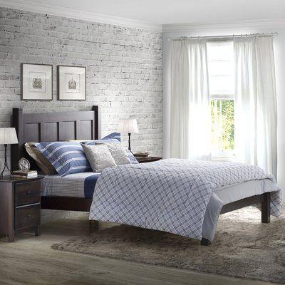 Charlestown Platform Bed Wood Platform Bed Solid Wood Platform Bed Furniture