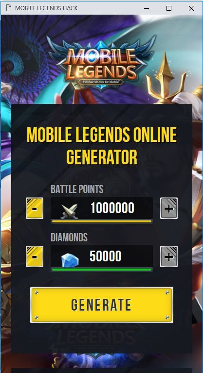 Mobile Legends Hack Pick Up Freebie Diamonds Android Mobile