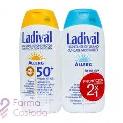 Ladival Pack Pieles Sensibles O Alergicas Spf50 Gel Crema 200ml After Sun 200ml Es Un Pack De Protectorsolar Con Aftersun Para El Cuidado Solar Piel Sensible Cuidado De La Piel