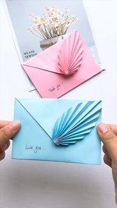 DIY Flower Envelope Gift   - Weihnachten - #DIY #envelope #Flower #gift #Weihnachten
