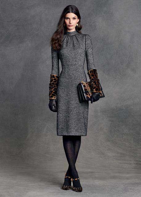 Dolce Gabbana Grey Dress Idées De Mode Mode Grise Idées De Style