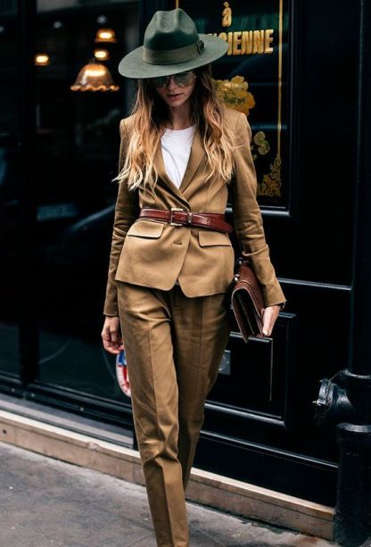 PFW Day menswear for women or how to rock a suit - Mode - Anzug