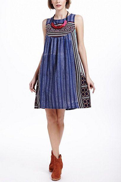 Inoke Batik Dress - Anthropologie.com....love this.  Fun fun.