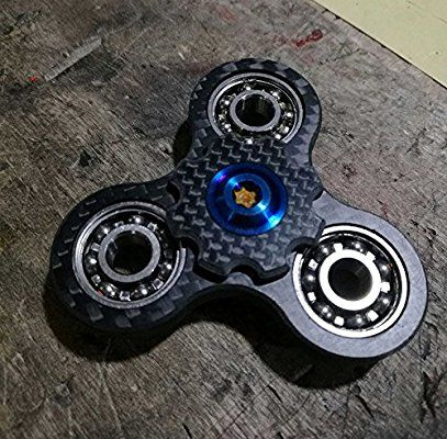 Fid Spinner THE SCHPROKET Steampunk Spinner Aluminum Frame