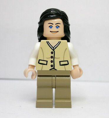 TAN OUTFIT - MINI FIGURE INDIANA JONES LEGO 7625 MARION RAVENWOOD