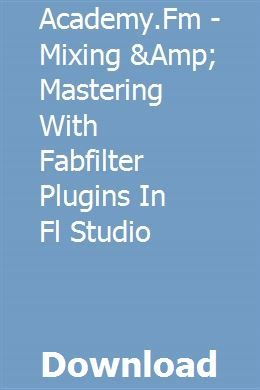 Fabfilter Ableton Download