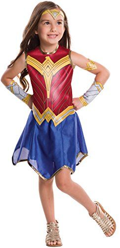 305a49f811a Wonder Woman Movie Child's Value Costume, Large Best Halloween ...