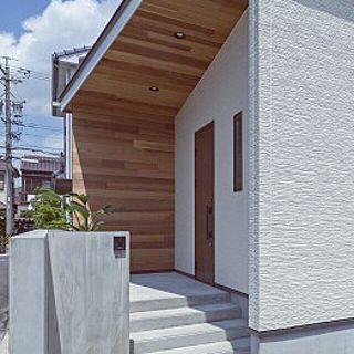 玄関 入り口 ホームランディック 玄関 注文住宅 コンクリート などの