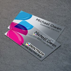 Connect In A More Creative Way Use Your Business Card To Speak For Your Brand Plastic Business Cards Printing Business Cards Printed Cards