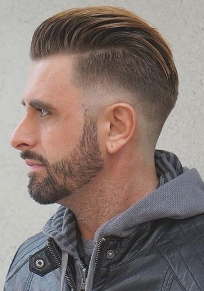 Trend Kurzhaarfrisuren Männer Hohe Stirn