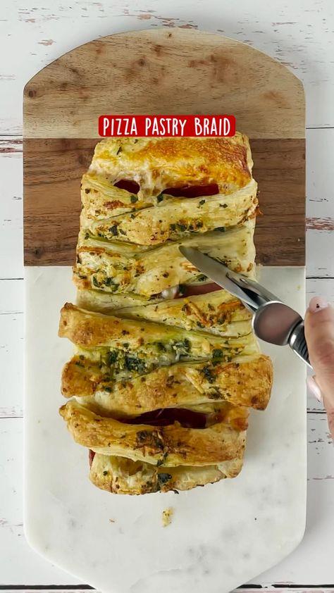 Pizza Pastry Braid