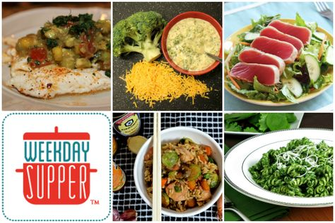 Light #WeekdaySupper options for the new year