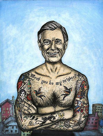 Mr  Rogers- Urban Legend' art print by erinhopkins | RedBubble com