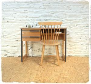 Bureau Vintage Style Scandinave Revisite Deco Vintage Decoration Vintage Mobilier