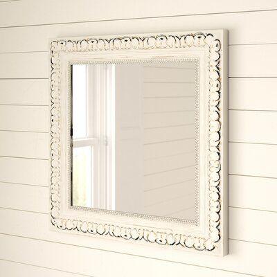 Celina Traditional Square Bathroom Vanity Mirror Size 17 5 X 17 5 Bathroom Vanity Mirror Powder Room Mirror Mirror