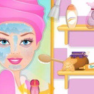 Juegos De Barbie Para Vestir Y Maquillar Gratis Barbie Custom Birthday Dog Purse