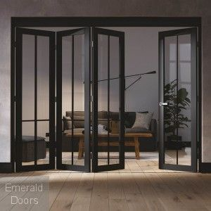 Liberty 4 Door Industrial Style Folding Doors Folding Doors Sliding Door Room Dividers Room Divider Doors