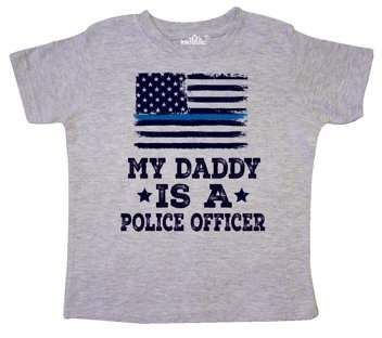inktastic African American Girl Police Uniform Toddler T-Shirt Police Girl