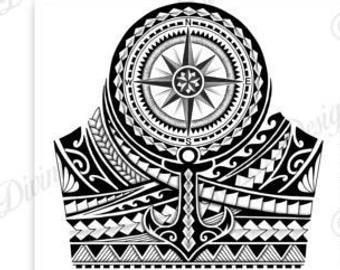 Half Sleeve Polynesian Tattoo Wrap Around Shoulder To Elbow Etsy In 2021 Polynesian Tattoo Sleeve Polynesian Tattoo Designs Half Sleeve Tattoo