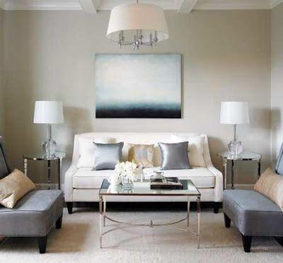 Benjamin Moore's HC-173 Edgecomb Gray: best gray paint color ever   bossy color Annie Elliott Interior Design