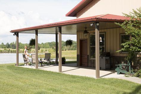 Morton Buildings custom home in Dickson, Tennessee.